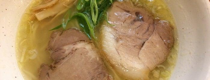 中華そば うえまち is one of 沿線ラーメン味くらべ2016参加店.
