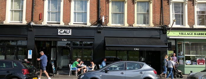 CAU is one of place to try in London.