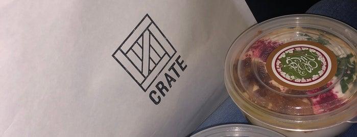 Crate is one of Tempat yang Disimpan Queen.