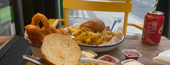 Honest Burgers is one of KDz London 19.