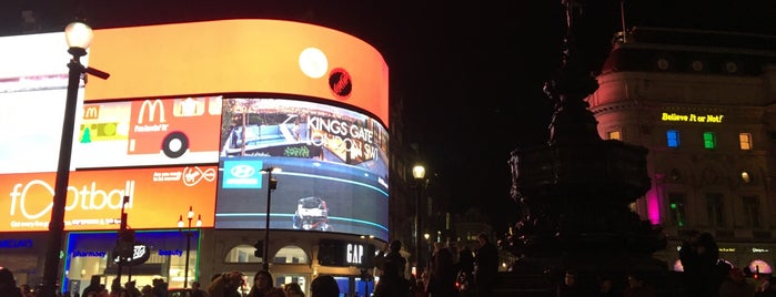 Piccadilly Circus is one of Lieux qui ont plu à BS.