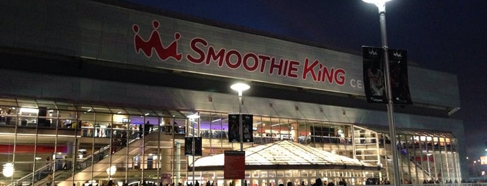 Smoothie King Center is one of Sporting Venues....