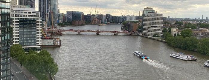 Lambeth is one of LONDON.