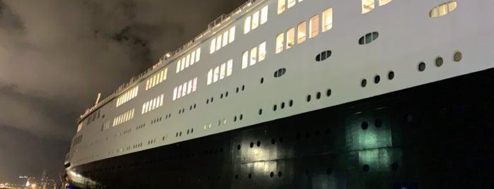 Queen Elizabeth II is one of Ocean Liners.