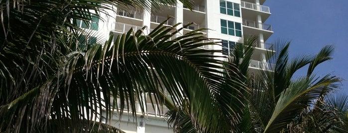 Marriott's Oceana Palms is one of สถานที่ที่บันทึกไว้ของ Mary.