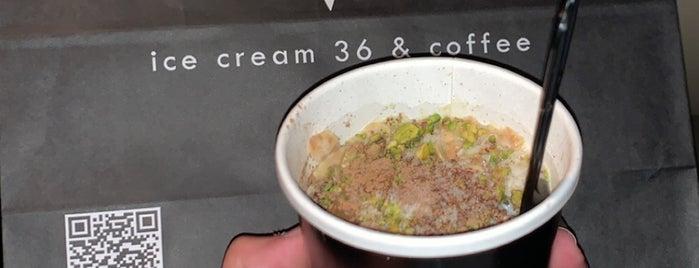 Ice Cream 36 & Coffee is one of Foodie 🦅'ın Beğendiği Mekanlar.