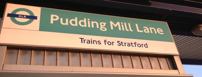 Pudding Mill Lane DLR Station is one of Paul 님이 좋아한 장소.