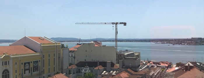 rooftop hotel bairro alto is one of Lisbon.