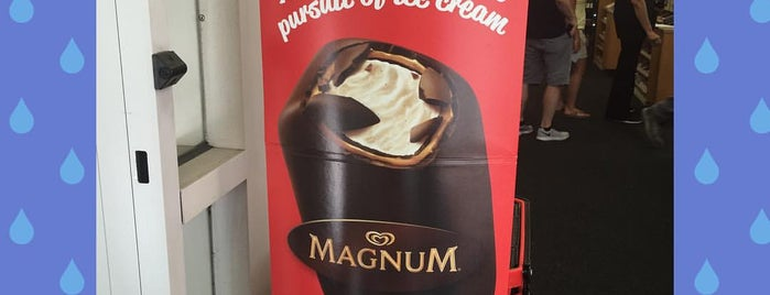 Magnum Ice Cream At Bryant Park is one of NY.