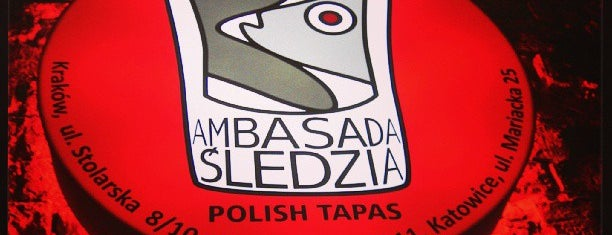 Ambasada Śledzia is one of Gespeicherte Orte von Krzysia.