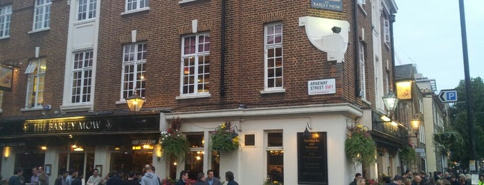 The Barley Mow is one of London by OJM.