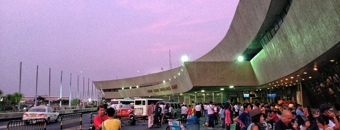 Ninoy Aquino International Airport (MNL) Terminal 1 is one of George's Saved Places.