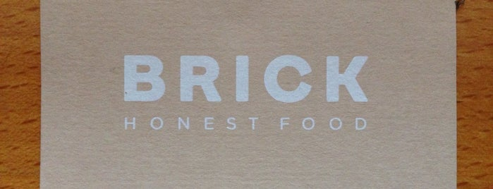 Brick is one of Restaurantes.