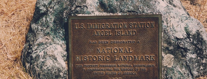 Angel Island Immigration Station is one of Partners in Preservation-San Francisco.