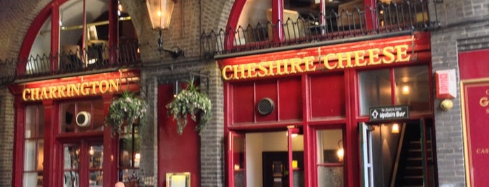 Cheshire Cheese is one of Guide to London's best spots.