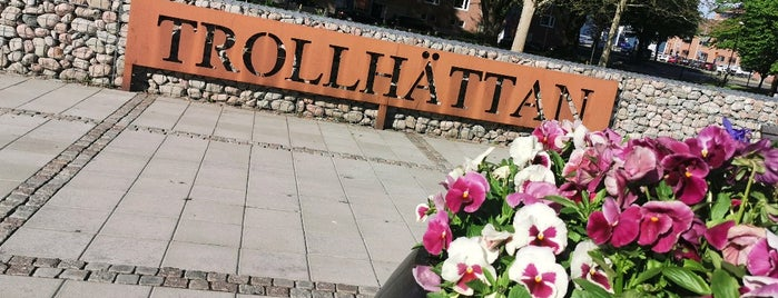 Trollhättan is one of in.