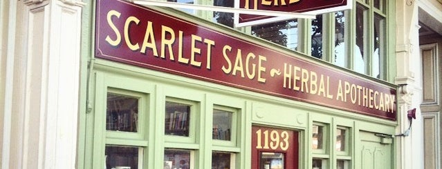 The Scarlet Sage Herb Co. is one of Home Bay's.