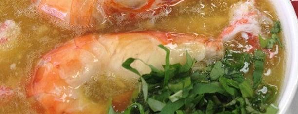 Bánh Canh Quê Anh & Quê Em is one of Locais curtidos por Jason.