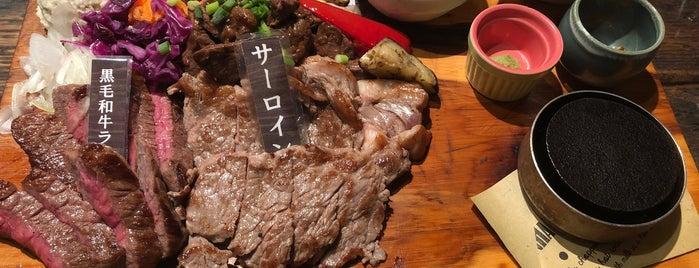 肉バル BRO-CKEN is one of Tempat yang Disukai Nik.