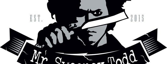 Barbershop Mr.Sweeney Todd is one of Tempat yang Disukai Filip.