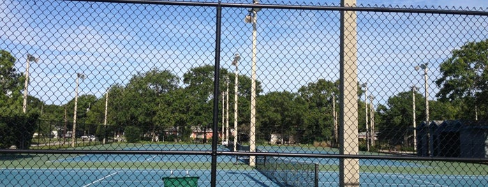 Cal Dickson Tennis Center is one of City of Tampa Parks.