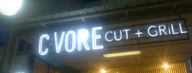 C*vore Cut + Grill is one of food-holic.
