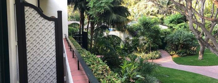Spa at Four Seasons Resort The Biltmore, Santa Barbara is one of Gespeicherte Orte von Caridad.