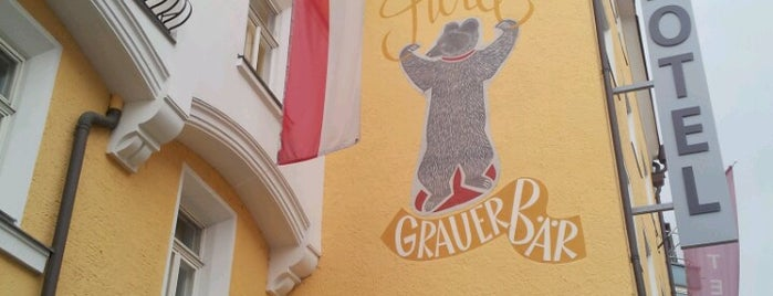 Hotel Grauer Bär is one of Tempat yang Disukai Tanya.