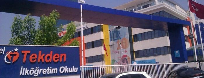 Küçükyalı Tekden Koleji is one of Tempat yang Disimpan Sedatcan.
