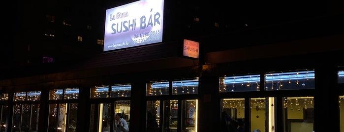 La-Guna Sushi Bar is one of Budapeste.