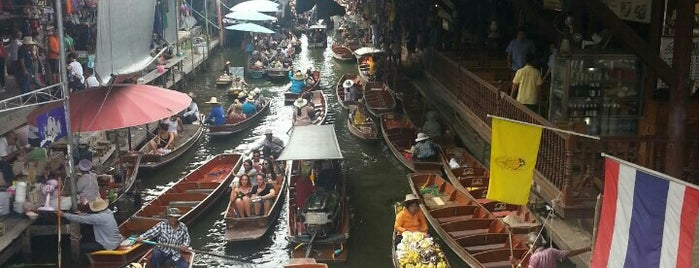 floating market is one of PINAR: сохраненные места.
