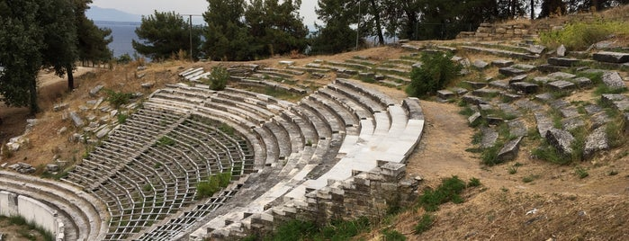 Ancient Theatre is one of Yunanistan, Kavala Yolculuğu.