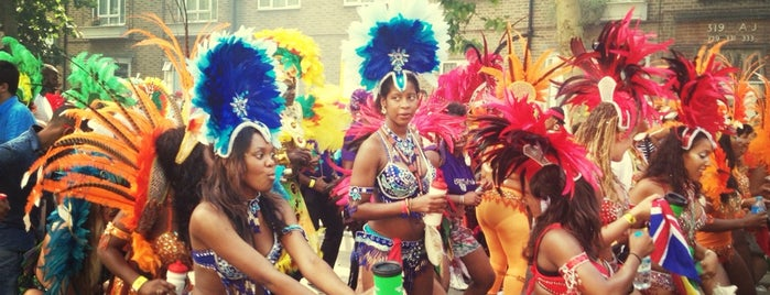 Notting Hill Carnival is one of Lola's Londón.