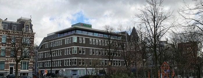 Heineken International B.V. is one of Amsterdam○○.