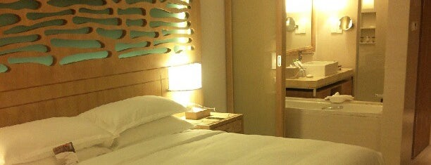 Sheraton Sanya Haitang Bay Resort is one of world best hotels.