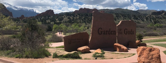 Garden Of The Gods is one of Colorado.