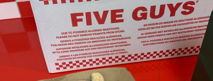 Five Guys is one of Paris, FR.