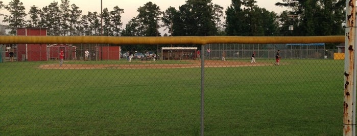 Kountze Little League is one of Lieux qui ont plu à Rita.