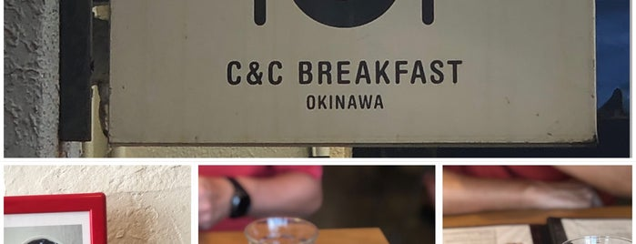 C&C BREAKFAST is one of Okinawa.