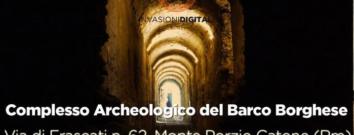 Complesso Archeologico del Barco Borghese is one of #invasionidigitali 2013.