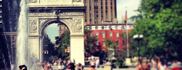 Washington Square Park is one of Hidden History NYC.