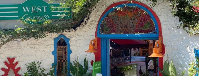 West Cafe is one of Ege tatil.