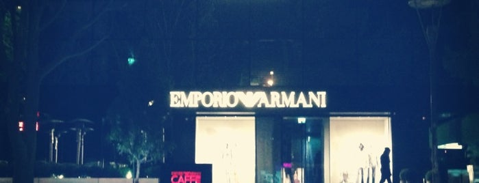 Emporio Armani Caffe is one of Lieux sauvegardés par Lamia N.