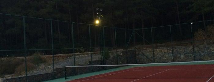 antorman Tenis kortu is one of Tempat yang Disukai Akif.