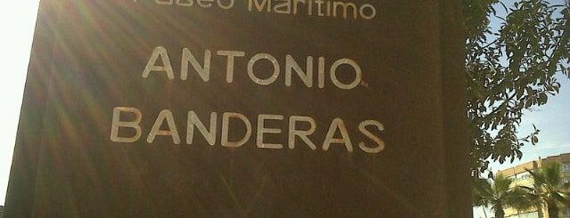 Paseo Marítimo Antonio Banderas is one of Málaga.