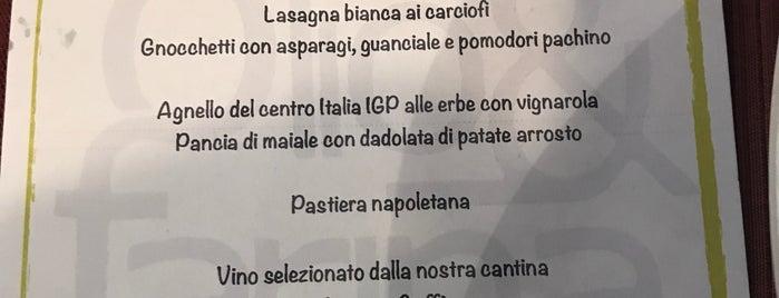 Ristorante Olio e Farina is one of Roma locali: checked.