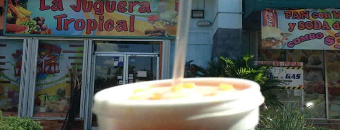 La Juguera Tropical is one of Goods Eats.
