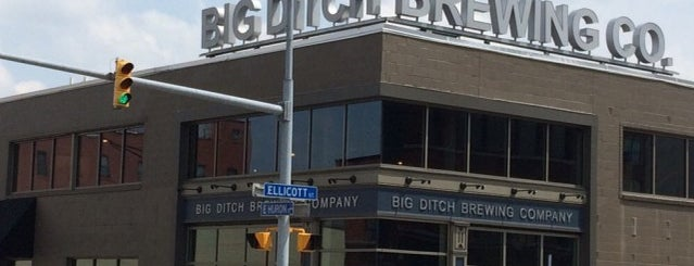 Big Ditch Brewing Company is one of Buffalo.