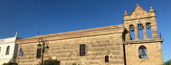 Agios Nikolaos of Molos is one of Zakyntos.