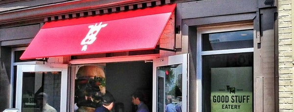 Good Stuff Eatery is one of Lugares guardados de Brady.